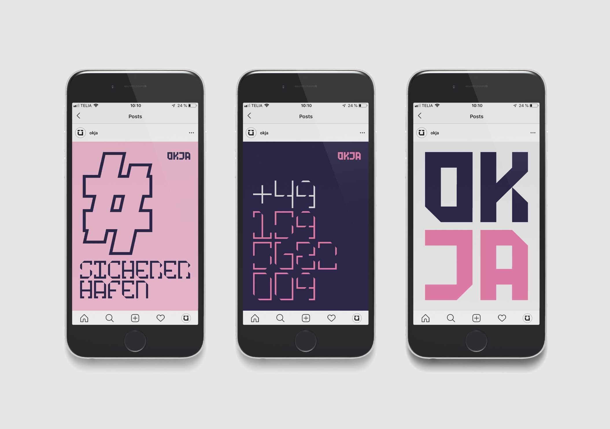 OKJA mobile